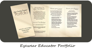 Eyewear Educator Portfolio